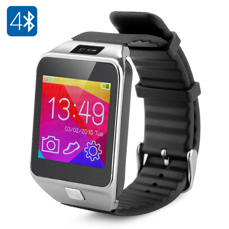 Wholesale 1.5 Inch Touch Screen Bluetooth Smart Watch for Android (Dialer,