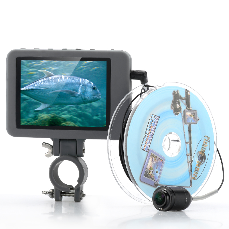 Wholesale Underwater Fishing Camera W/ 3.5 Inch Color Monitor (2MP, 20 Meters Range, 4000mAh Rechargeable)