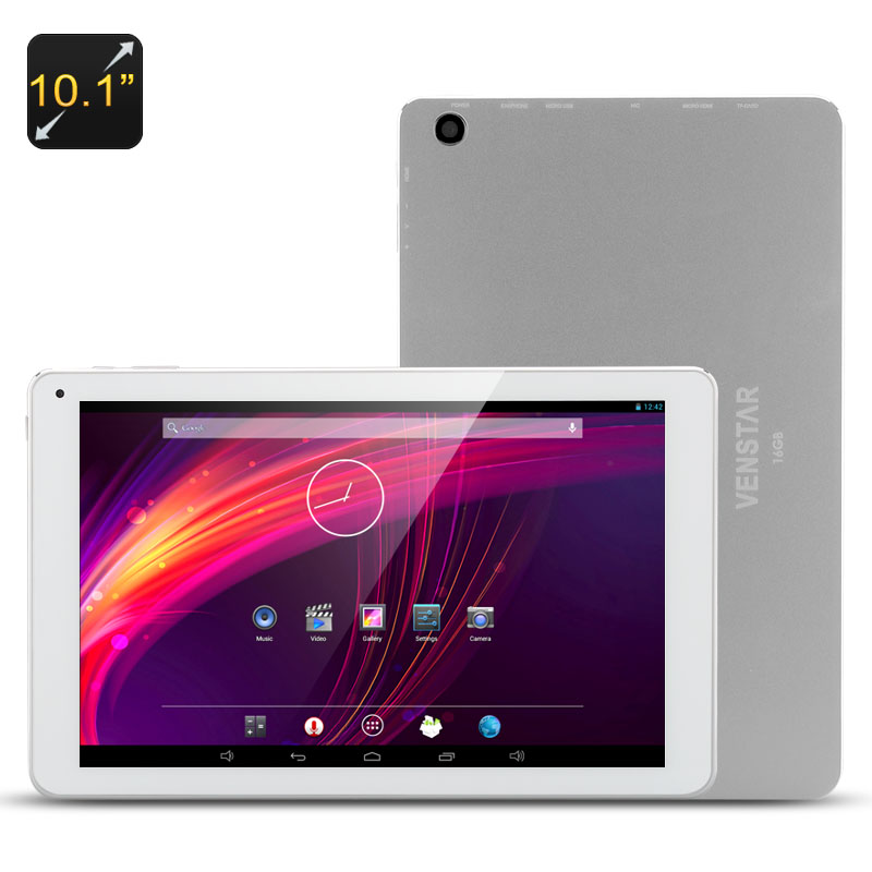 Wholesale Venstar ACE10 10.1 Inch IPS Quad Core Android Tablet (1920x1200 HD, 7000mAh, 2GB RAM, 16GB, Micro HDMI)