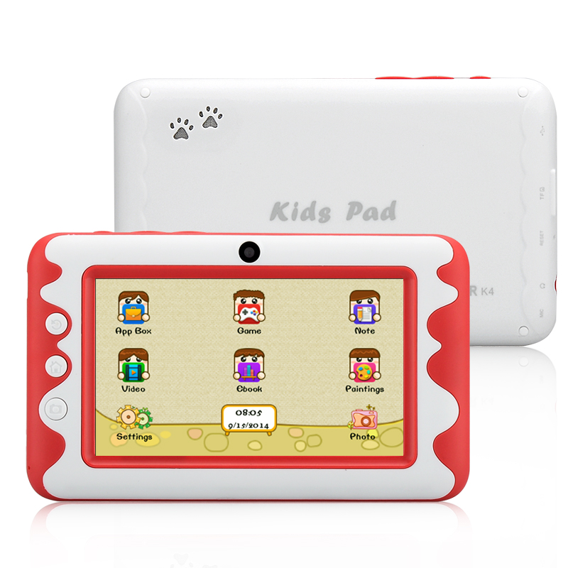 Wholesale Venstar K4 4.3 Inch Children Android 4.2 Tablet (Dual Core, Parental Control, Red)