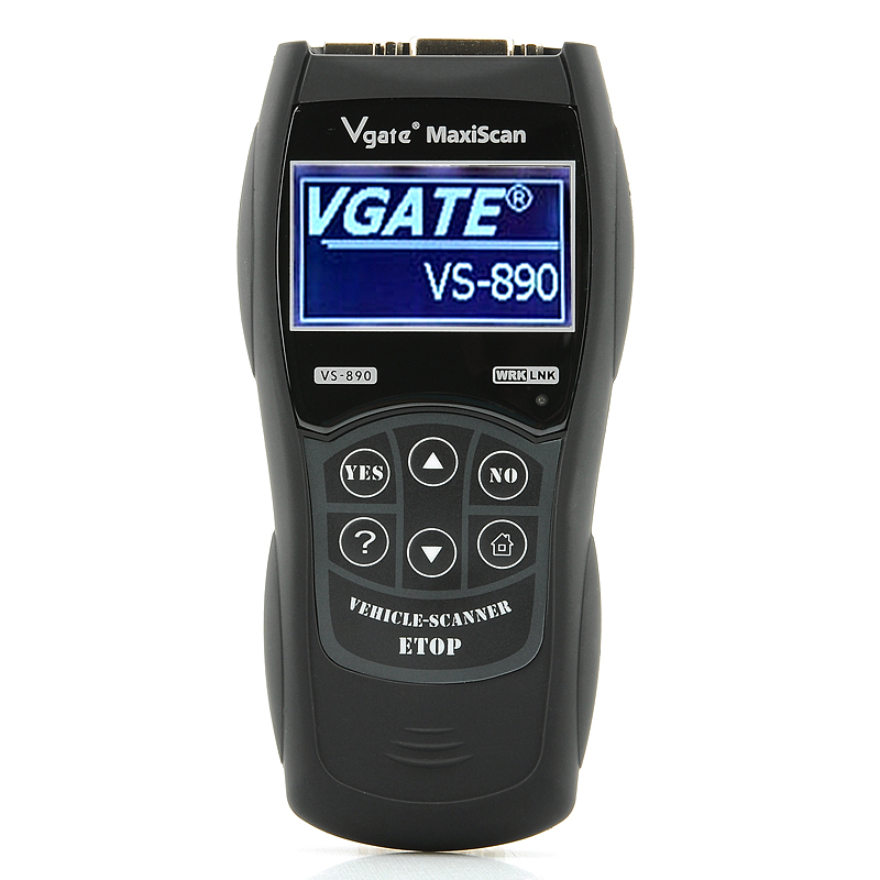 Wholesale Vgate VS-890 OBD-II EOBD Code Reader - Professional Car Diagnostic Scanner