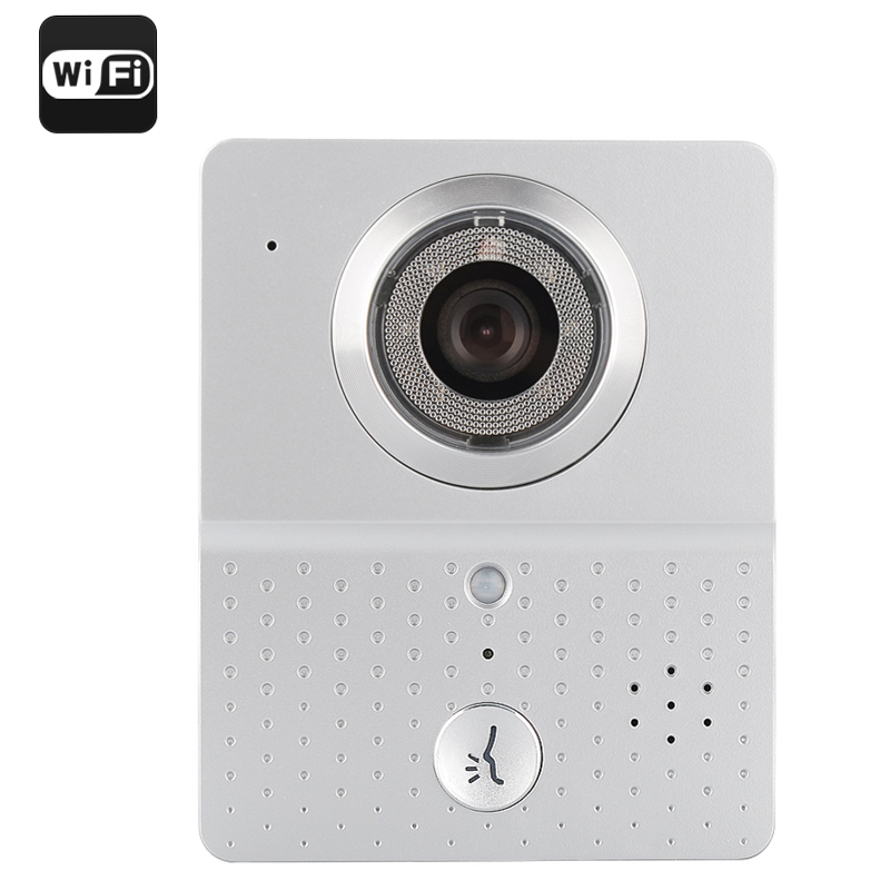 Wholesale Wi-Fi Video Door Intercom + Door Bell for iOS + Android (Night Vision, Remote Door Unlock, Motion Detection)