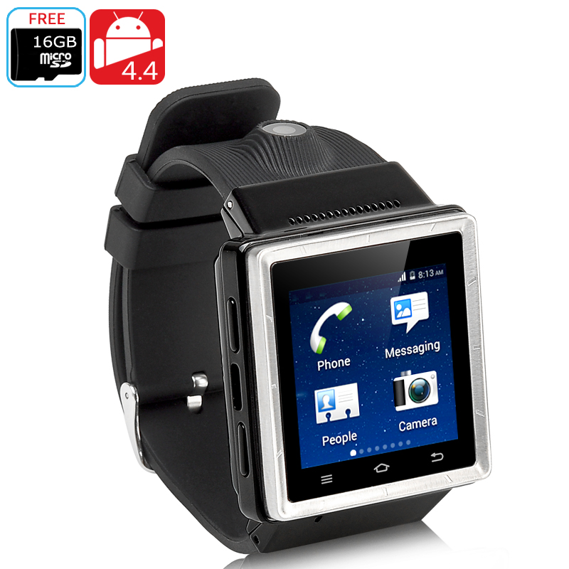 Wholesale ZGPAX S6 Android 4.4 3G Watch Phone (Dual Core, GPS, Wi-Fi, 2MP,