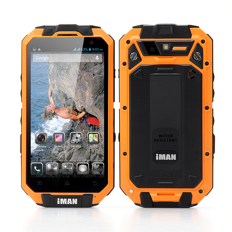 Wholesale iMAN i3-N 4.3 Inch Smart-Touch Rugged Smartphone (IP68 Waterproo
