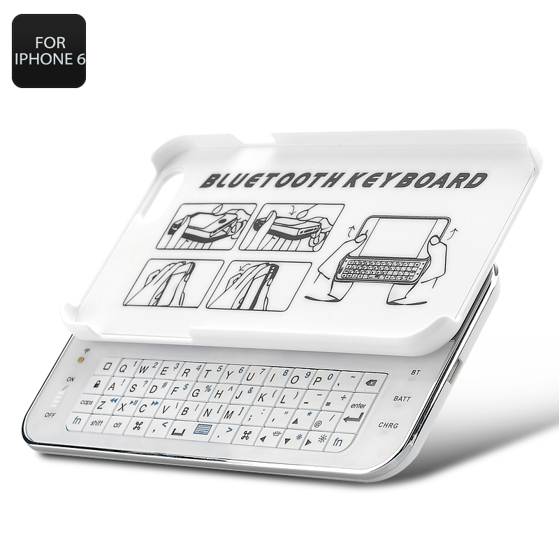 Wholesale Slide-Out Bluetooth Keyboard for iPhone 6 (Qwerty, Ultra-thin, 250mAh)