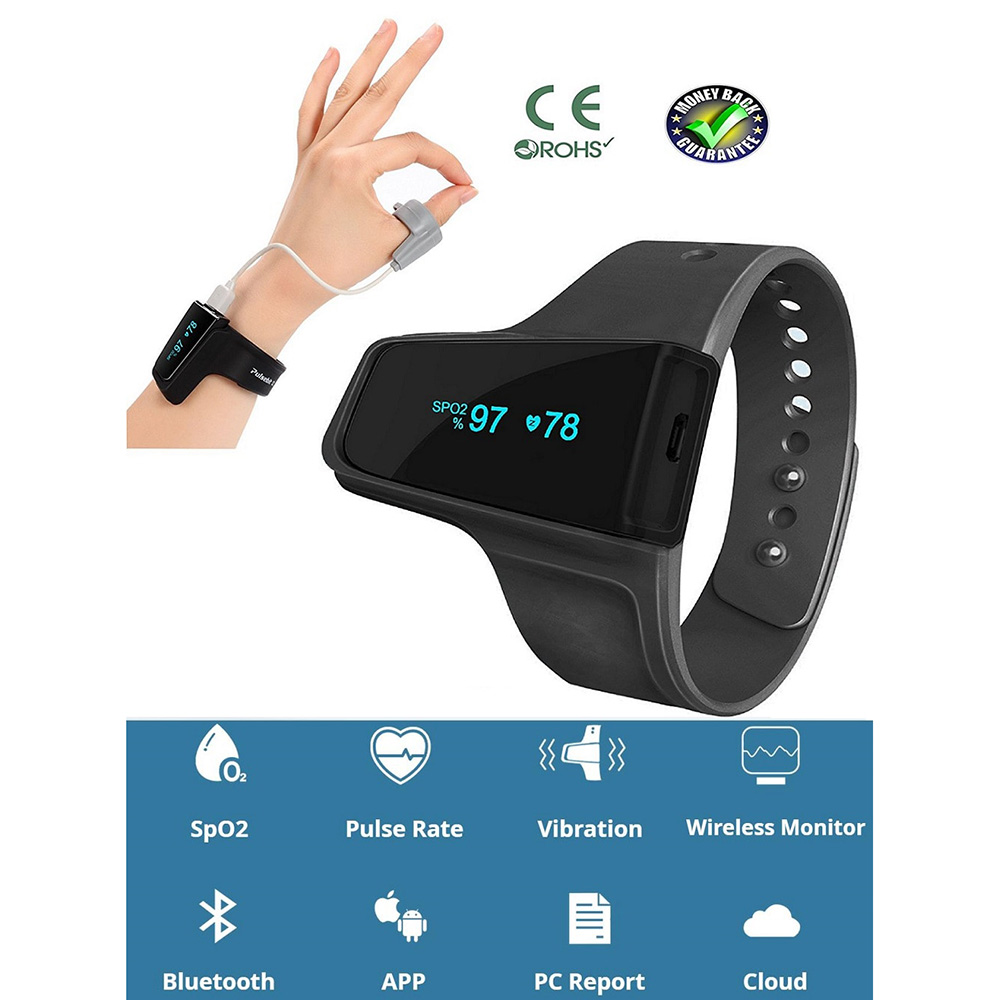Wholesale MOYEAH Sleep Aid Watch Monitor Heart Rate SpO2 Pulse Oximeter An