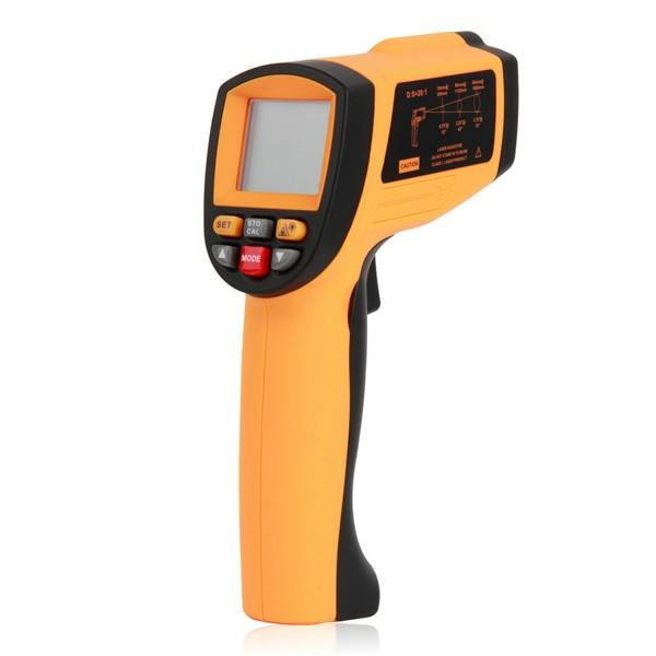 Wholesale GM1150 LCD Digital Non Contact Laser IR Infrared Thermometer Temperature Meter Gun Point -50 to 1150 Degree -