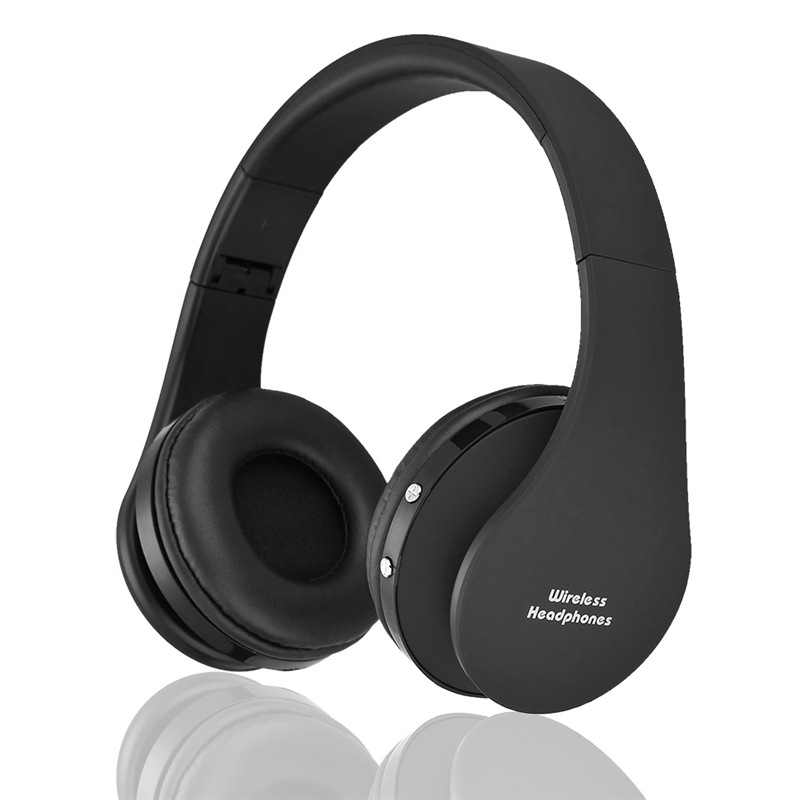 Wholesale NX-8252 Foldable Wireless Bluetooth Headphones with Built-in Mic