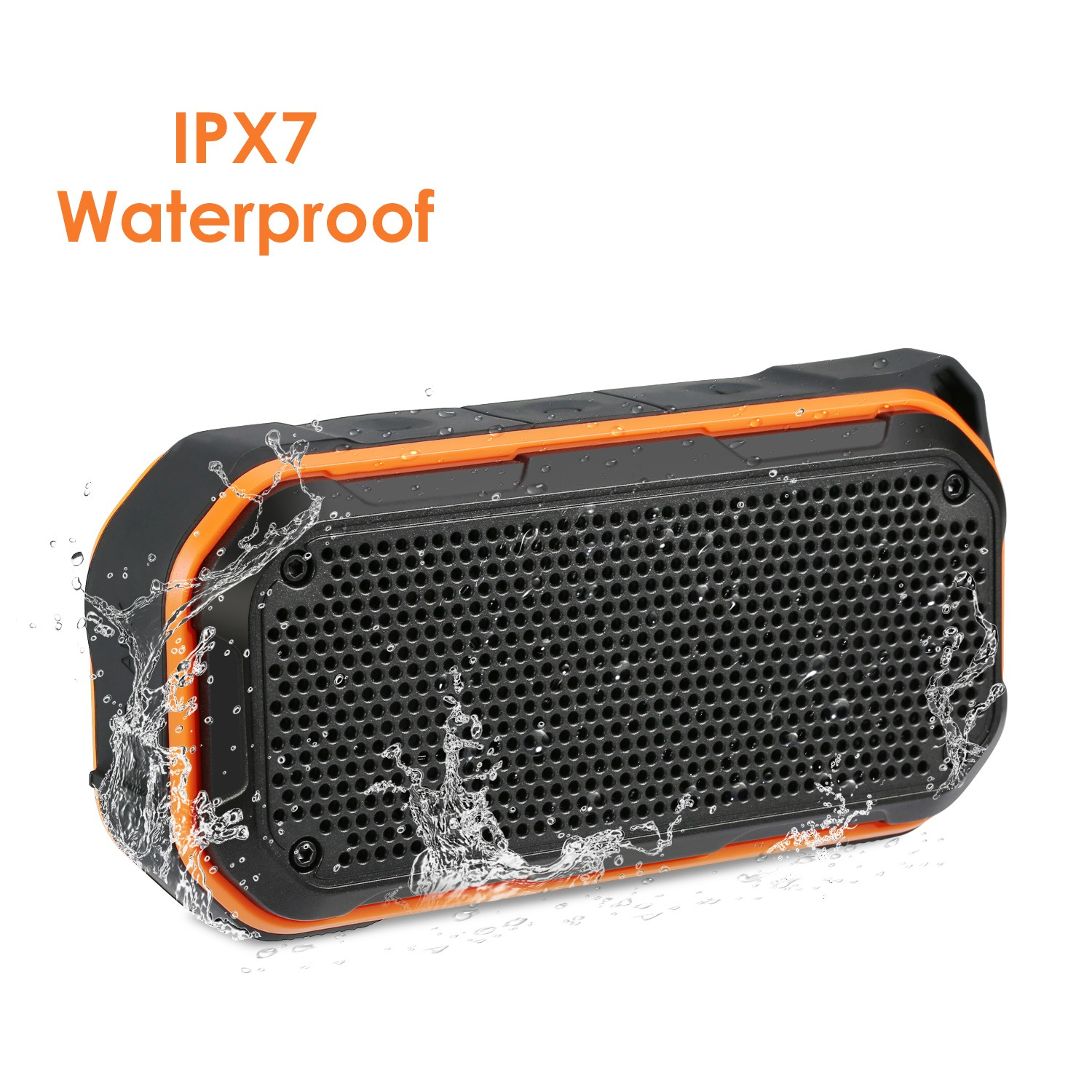 Wholesale BT526 Waterproof Portable Bluetooth Speaker - Orange Speaker