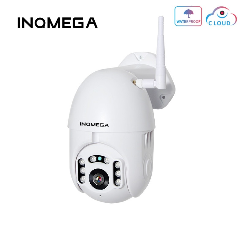 Wholesale INQMEGA HD 1080P Wireless Could PTZ Speed Dome for Outdoors (IP66 Waterproof, WiFi, 2MP, Two Way Audio)