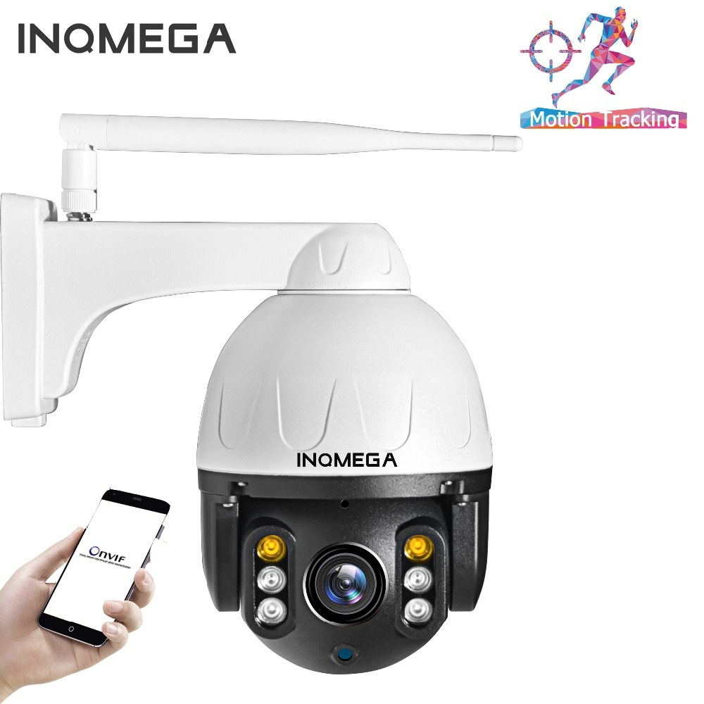 Wholesale INQMEGA 1080P HD Outdoor WiFi PTZ Dome Camera (Humanoid Track, IP66 Waterproof, Two Way Audio, Night Vison)