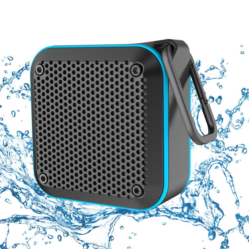 Wholesale KIYEDAM IPX7 Waterproof Bluetooth Speaker - Blue Speaker