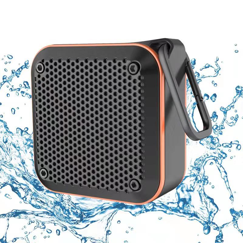 Wholesale KIYEDAM IPX7 Waterproof Bluetooth Speaker - Orange Speaker