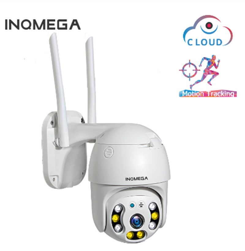 Wholesale INQMEGA Cloud 1080P Outdoor PTZ Speed Dome Camera with Auto Tracking, Full Color Night Vision, Two Way Audio