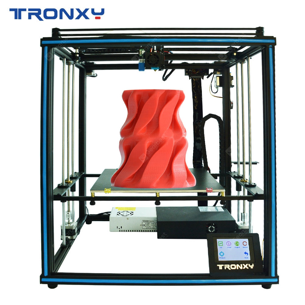 Wholesale Tronxy Factory Price Desktop Educational Home Use X5SA 24V Industrial Core XYZ 3D Printer - X5SA 24V Italy