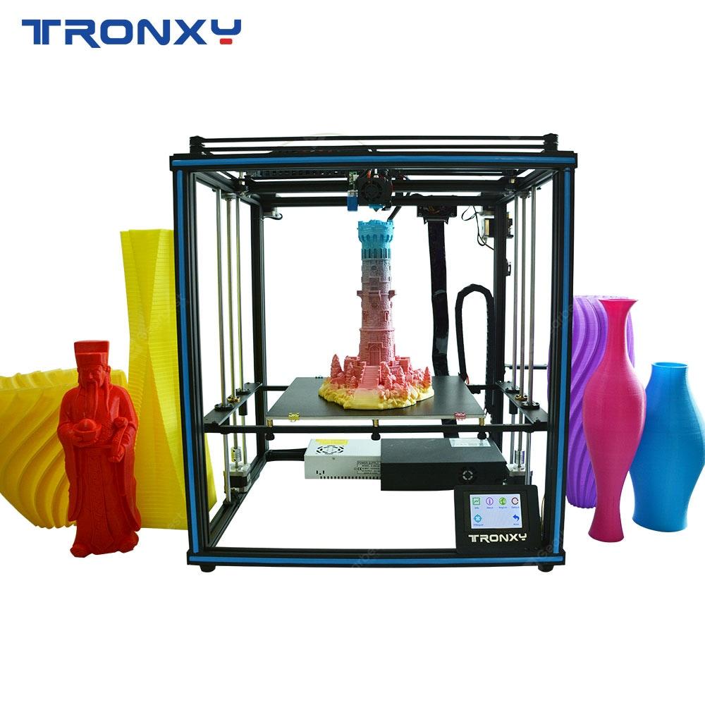 Tronxy Factory Price Desktop Educational Home Use X5SA 24V Industrial Core XYZ 3D Printer - X5SA 24V Italy