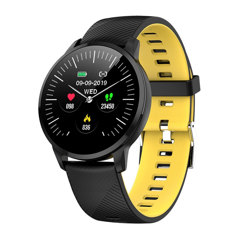 Wholesale S16 Smart Watch Bluetooth Sports Fitness Tracker Heart Rate Monitor Clock Smartwatch - Yelloween