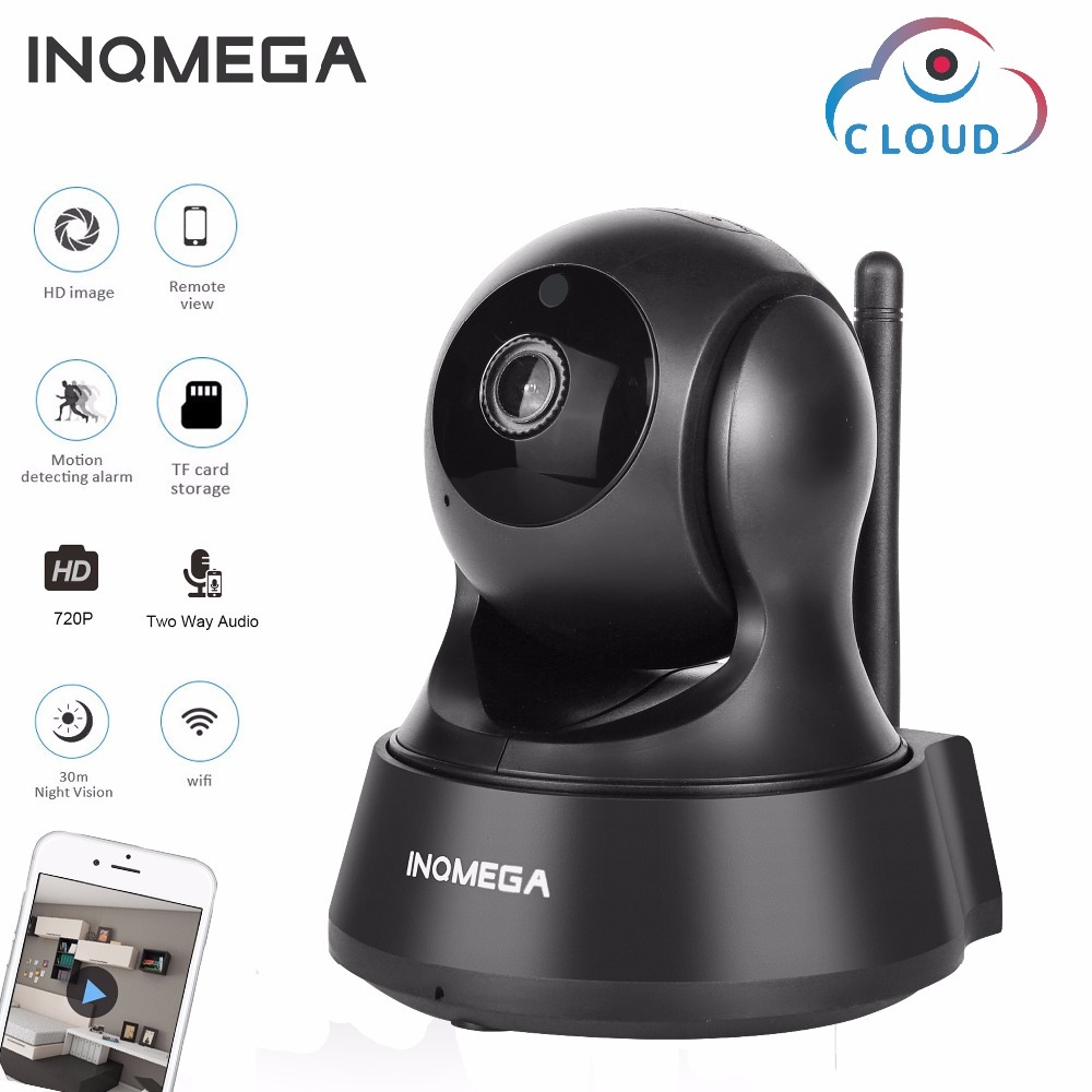 Wholesale INQMEGA 720P PTZ Mini Wireless Security IP Camera (Cloud Storage, Baby Monitor Function, Two Way Audio)