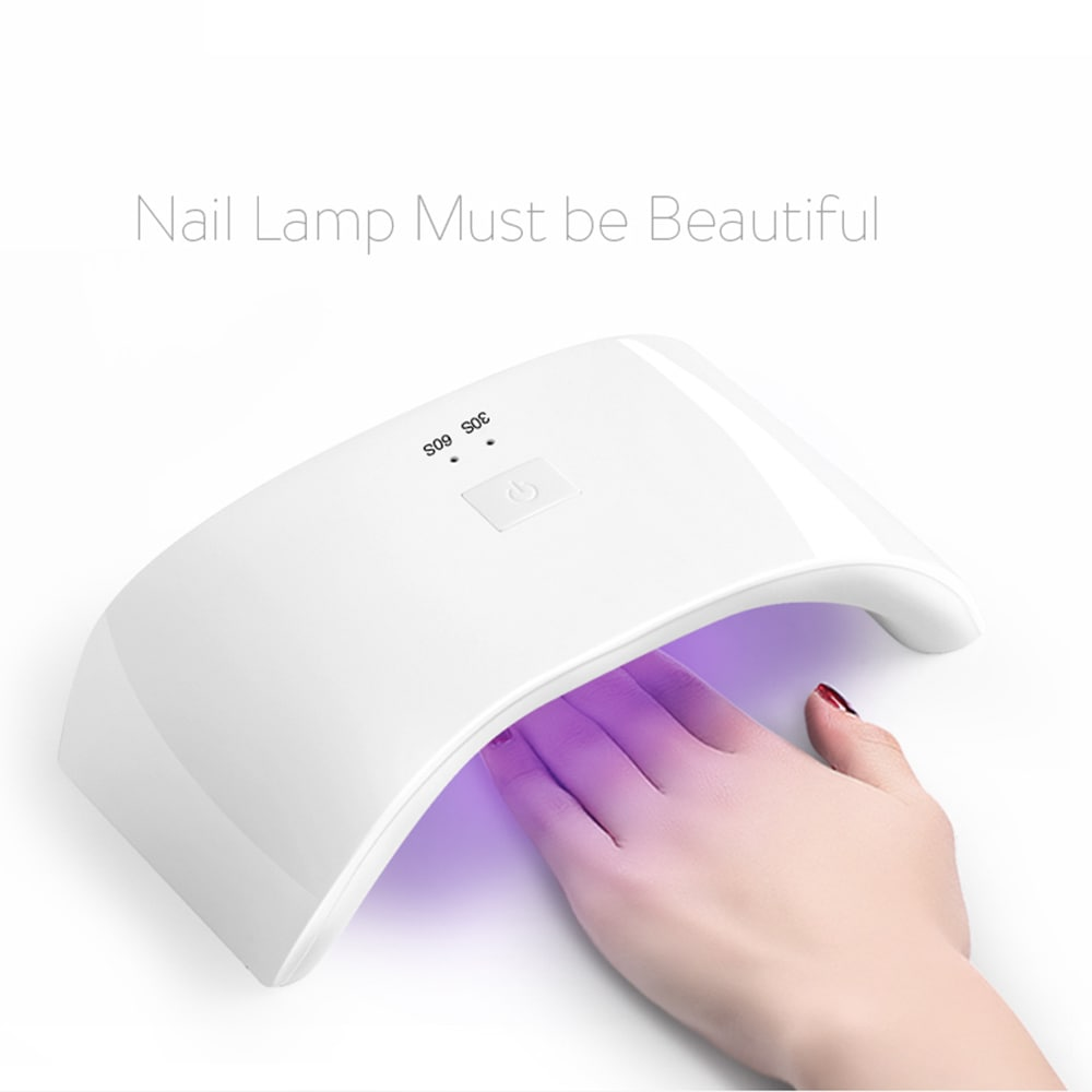 Wholesale 36W LED Gel Nail Dryer Lamp for Fingernail Toenail Curing Nail Salon - White