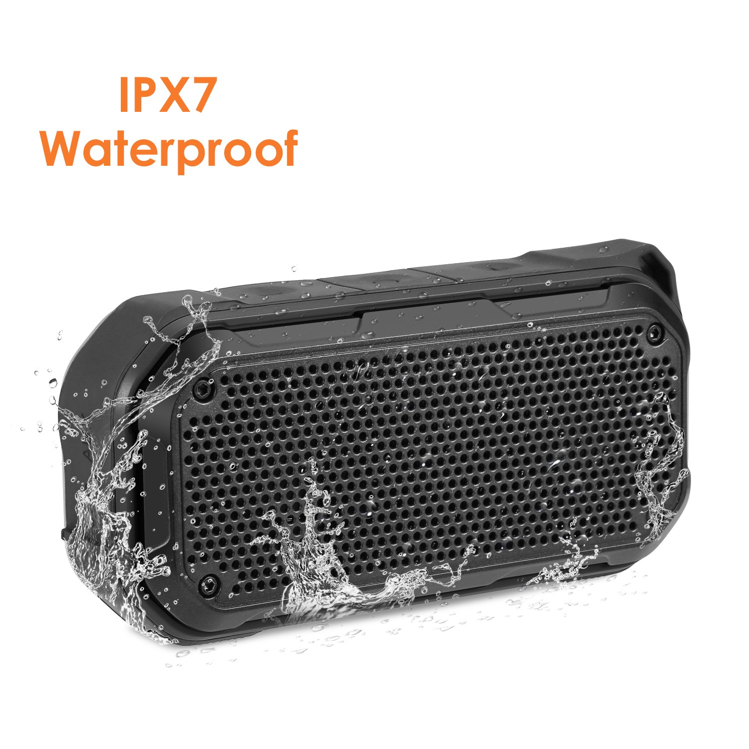 Wholesale BT526 Waterproof Portable Bluetooth Speaker - Black Speaker