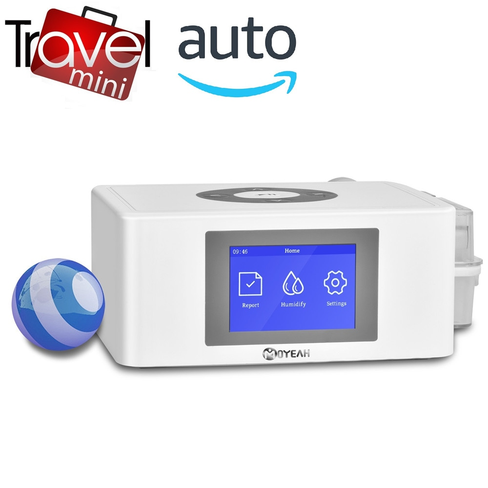 Wholesale MOYEAH Mini Travel APAP Machine Portable CPAP Automatic APAP Heated Humidifier For Sleep Apnea - White