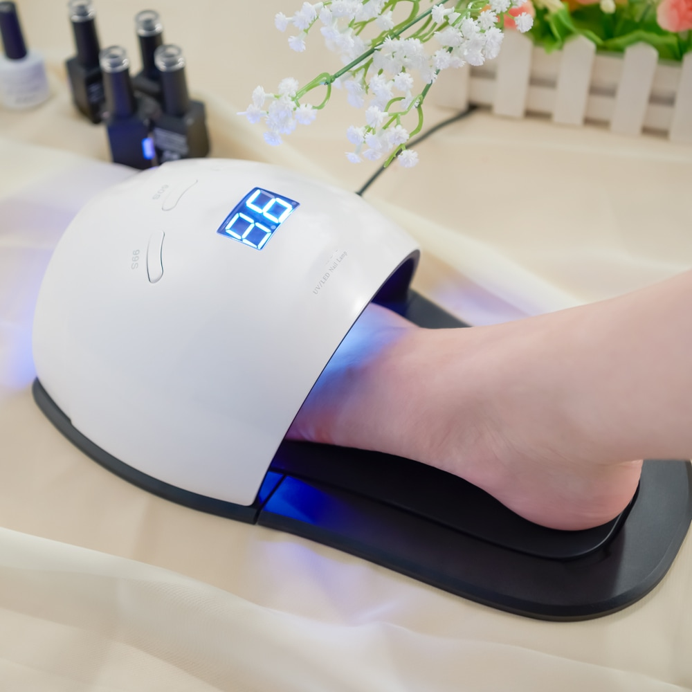 Wholesale 48W LED UV Gel Nail Lamp Dryer Manicure with Automatic Sensor fo