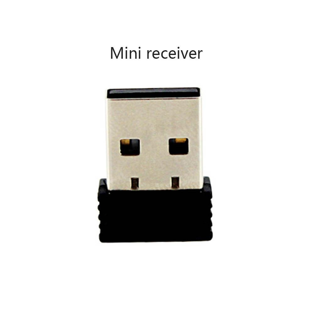 2.4G High Speed Wireless Wired USB 1D Laser Barcode Scanner - Black