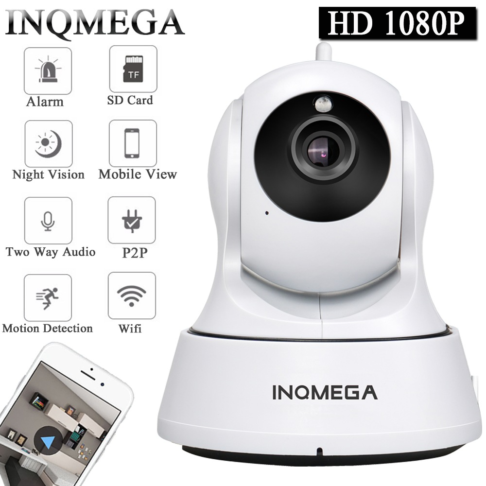 Wholesale INQMEGA Cloud Home Security Full HD 1080p PTZ Wireless IP Camera (Auto Tracking, Two Way Audio, 3.6mm Lens)
