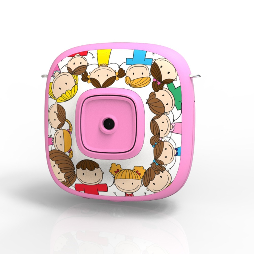 Wholesale Cartoon 1080P Digital Camera Kid Automatic Video Recorder Camcorder - Pink