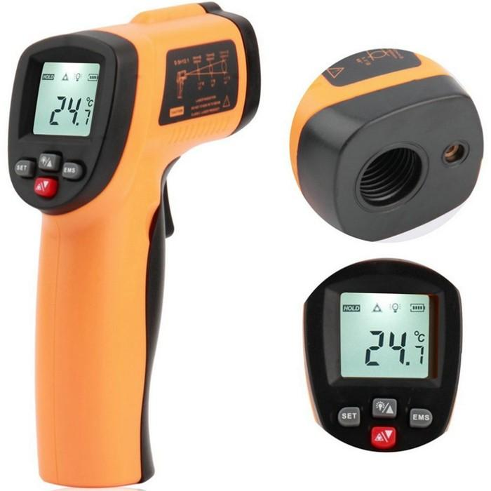 Wholesale GM550E Digital IR Non Contact Laser LCD Infrared Thermometer Temperature Meter Gun -50~550°C/ -58~1022℉ -