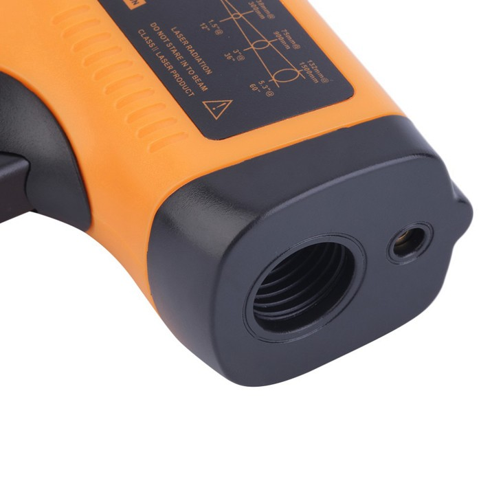 GM550E IR Non Contact Laser Infrared Thermometer Temperature Meter Gun with LCD Display, Range -50 - 550 Deg C
