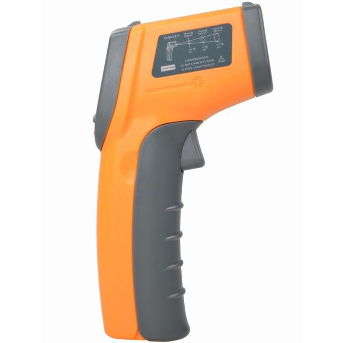 GS320 Non Contact Laser IR Infrared Thermometer Auto Temperature Meter Gun (Digital LCD, -50 Deg C - 360 Deg C)