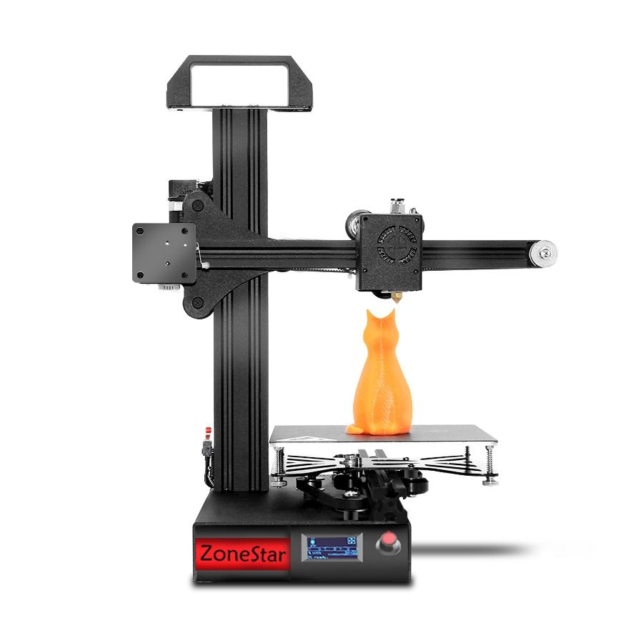Wholesale Zonestar Z6F Full Metal Frame DIY 3D Printer (150mm x 150mm x 150mm, Phone Control, OLED Screen)