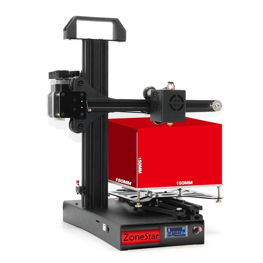 Zonestar Z6F Full Metal Frame DIY 3D Printer (150mm x 150mm x 150mm, Phone Control, OLED Screen)