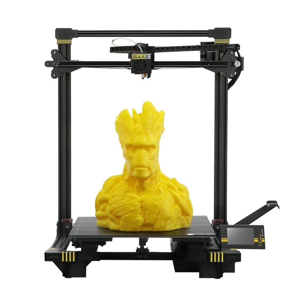 Wholesale Anycubic Chiron 3D Printer 400*400*450mm Printing Size With Matrix Automatic Leveling/Ultrabase Pro Hotbed/Power Resume/Filament S