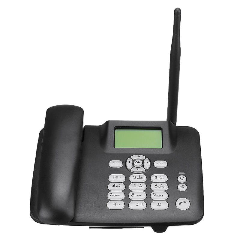 Wholesale Quad-Band 2G GSM Wireless Desk Telephone with Built-in 1000mAh Battery