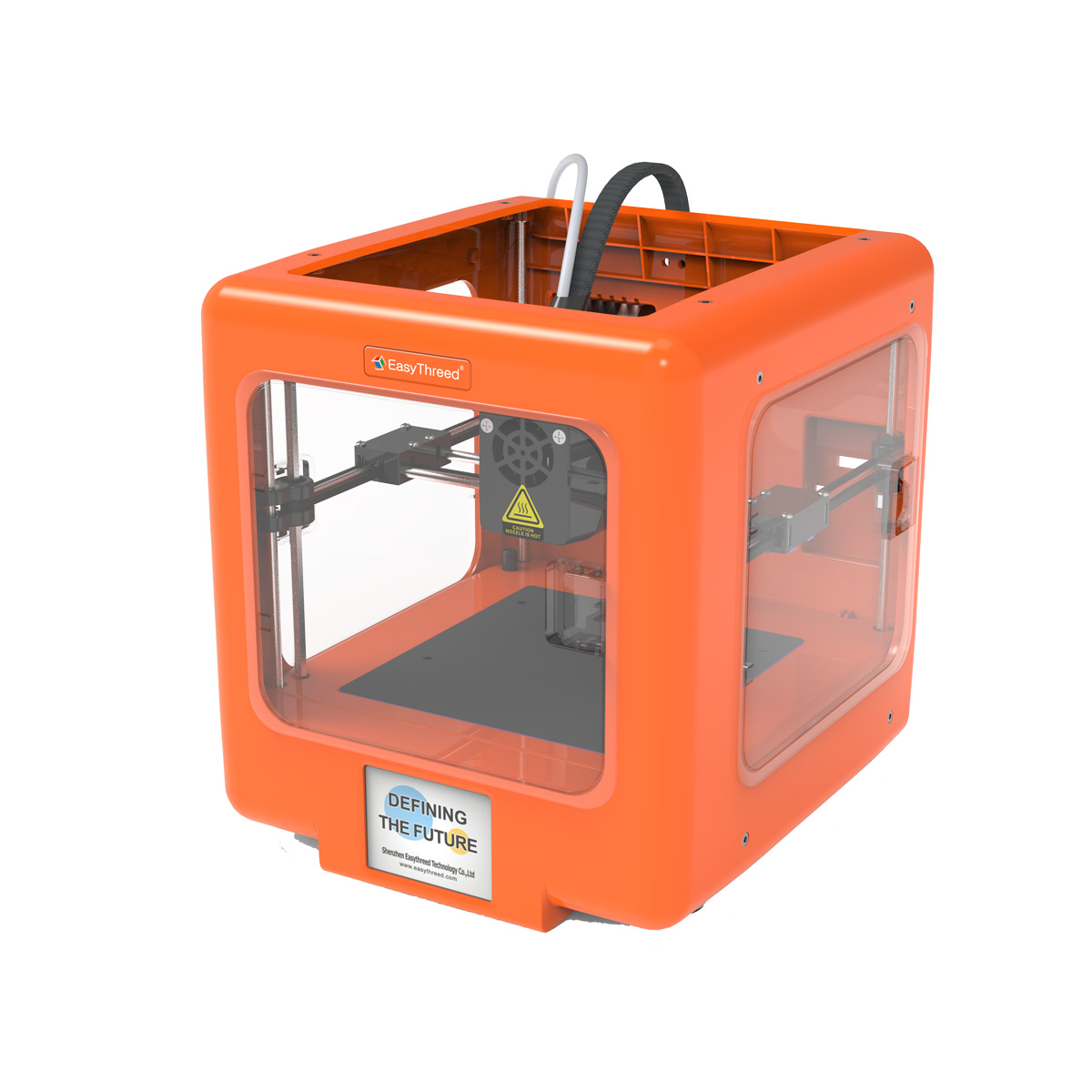 Easythreed MICKEY Mini Desktop Assembled 3D Printer Support WIFI/APP Control with Removable Magnetic Platform/90*100*110mm Printin