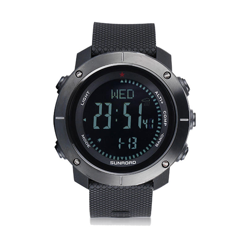 Wholesale SUNROAD CARBINE 5ATM Waterproof Smart Bracelet Pedometer Altimeter Barometer Outdoor Digital Sports Smart Watch