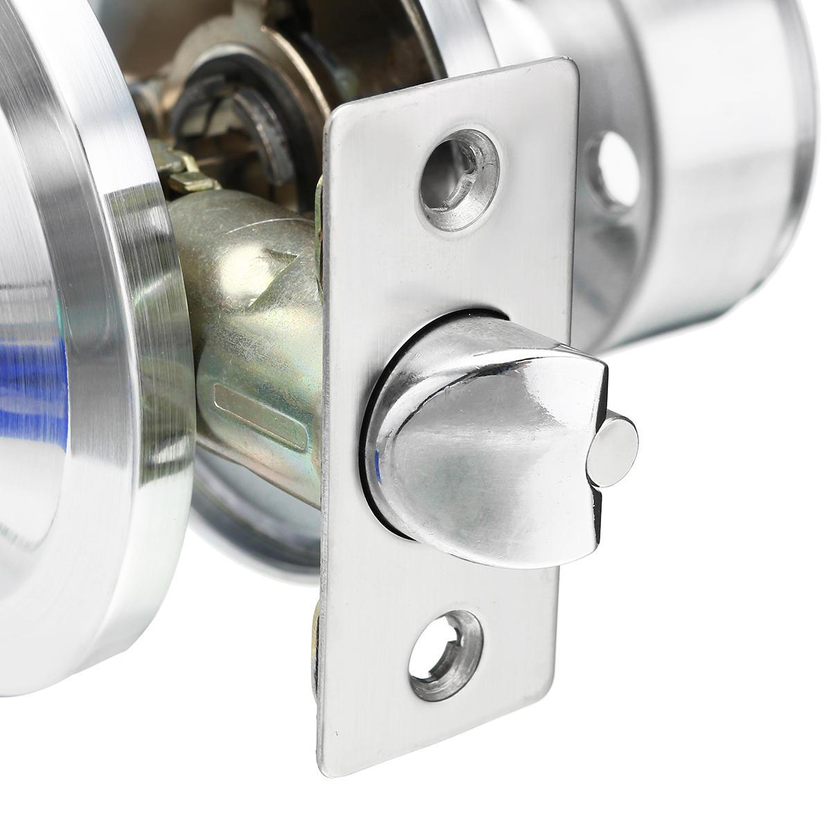 Electronic Digital Keyless Smart Code Door Lock - Silver