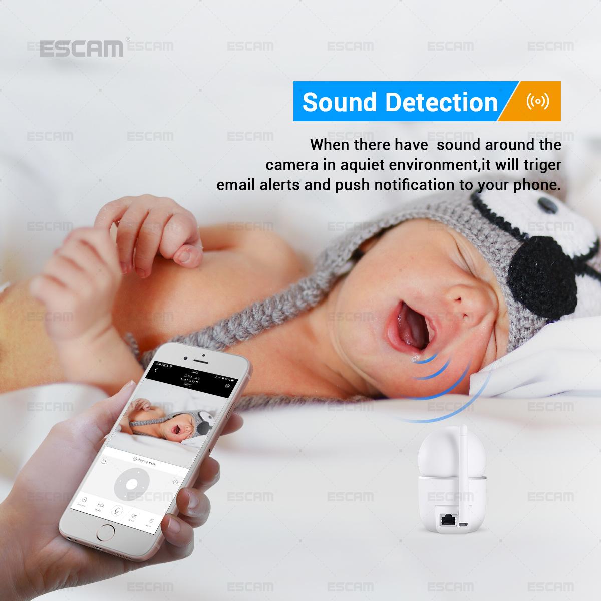 ESCAM QF009 1080P 2MP IP IR Surveillance Mini IP Cameras Indoor Night Vision