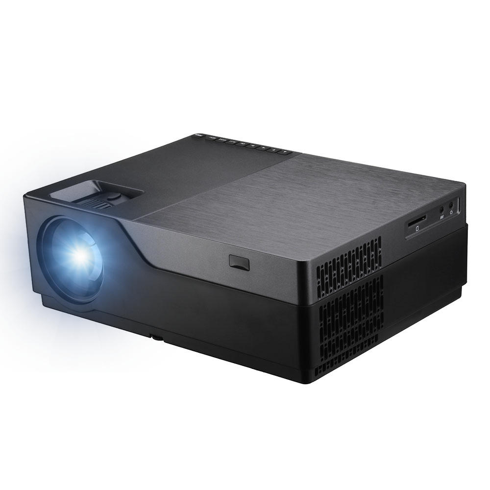 Wholesale AUN M18UP Full HD Projector Android 8.0 OS 1G+8G 5500 Lumens 1920x1080 LED Projector Support 3D Home Theater Projector