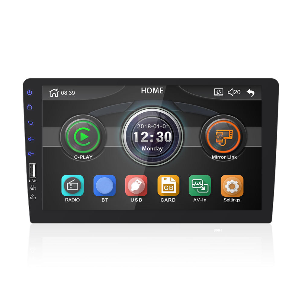 Wholesale 9008 9 Inch Single 1 Din Car MP5 Player Stereo Radio FM bluetoot