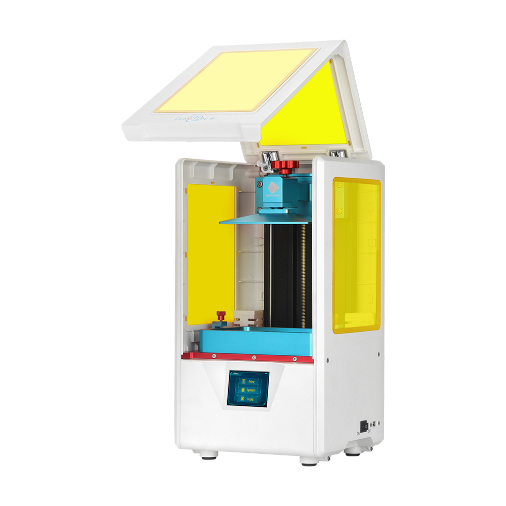 Anycubic Photon-S UV Resin LCD 3D Printer 115*65*165mm Printing Size With Dual Z-axis Design / Silent Print / 2.8-inch Touch Scree