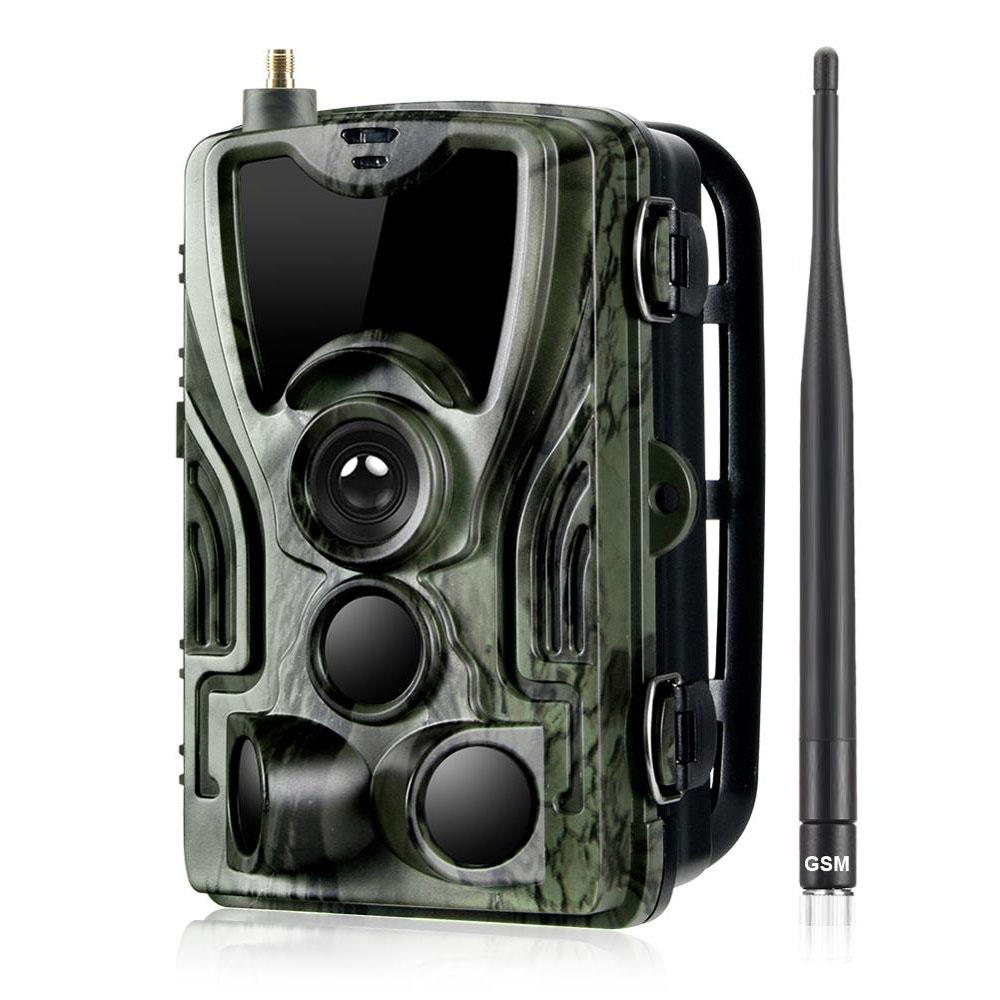 Wholesale HC-801M 2G 1080P HD 16MP Hunting Wildlife Trail Track Camera Support GPRS GSM MMS SMTP SMS