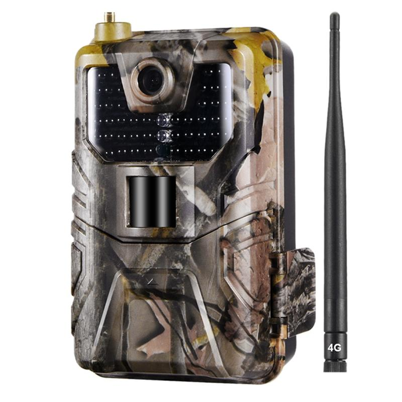 Wholesale HC-900LTE 16MP 4G 1080P HD Waterproof Hunting Trail Track Camera with 44 IR LEDs Night Version