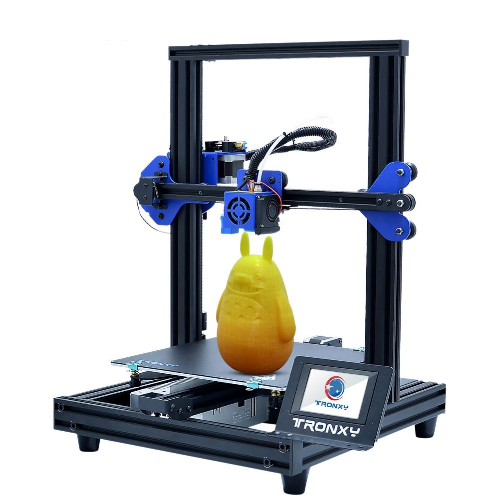 Wholesale TRONXY XY-2 PRO V-slot Prusa I3 DIY 3D Printer Kit 255*255*260mm Printing Size Titan Extruder Available With Power Resume / Filame