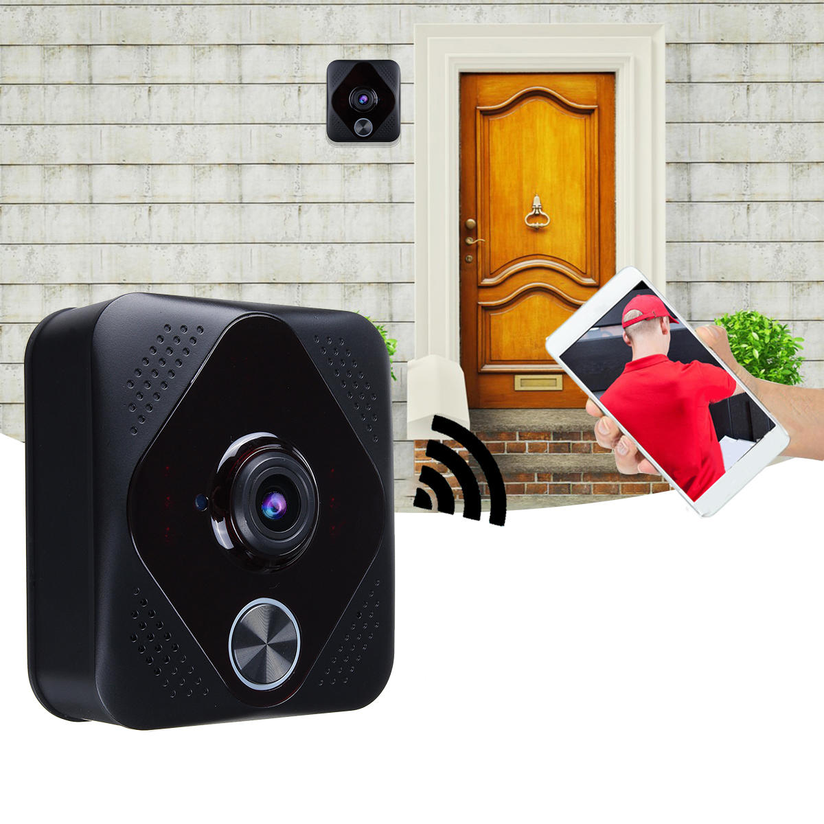 Wholesale WiFi Smart Wireless Phone Video Doorbell Camera Intercom Ring Doorbell Night Vision
