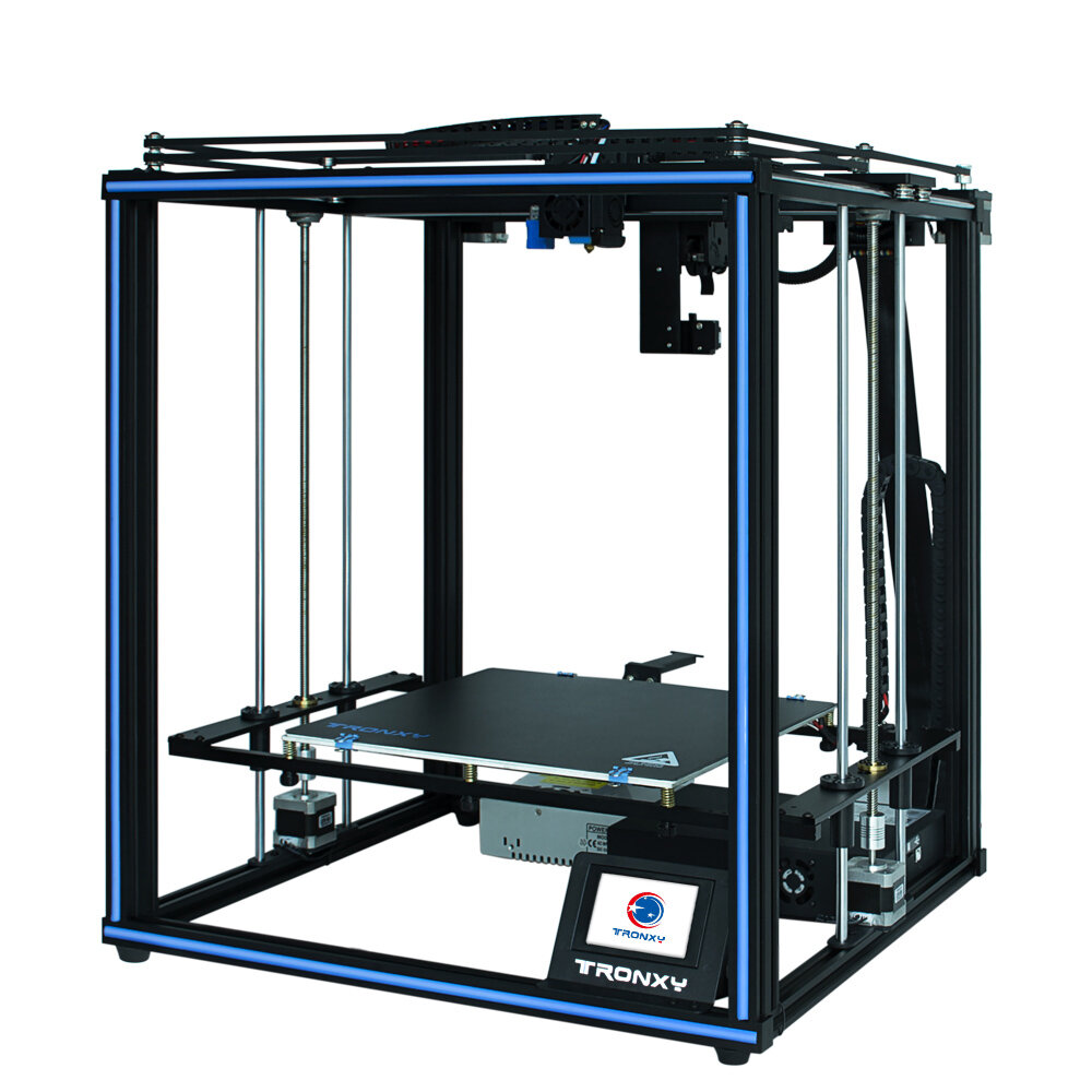 Wholesale TRONXY X5SA- PRO CoreXY Desktop DIY 3D Printer Kit 330*330*400 Print Size with OSG Dual-Axis/Titan Extruder Support Auto-leviling/