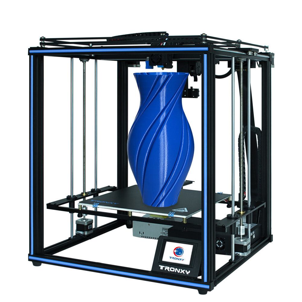 TRONXY X5SA- PRO CoreXY Desktop DIY 3D Printer Kit 330*330*400 Print Size with OSG Dual-Axis/Titan Extruder Support Auto-leviling/