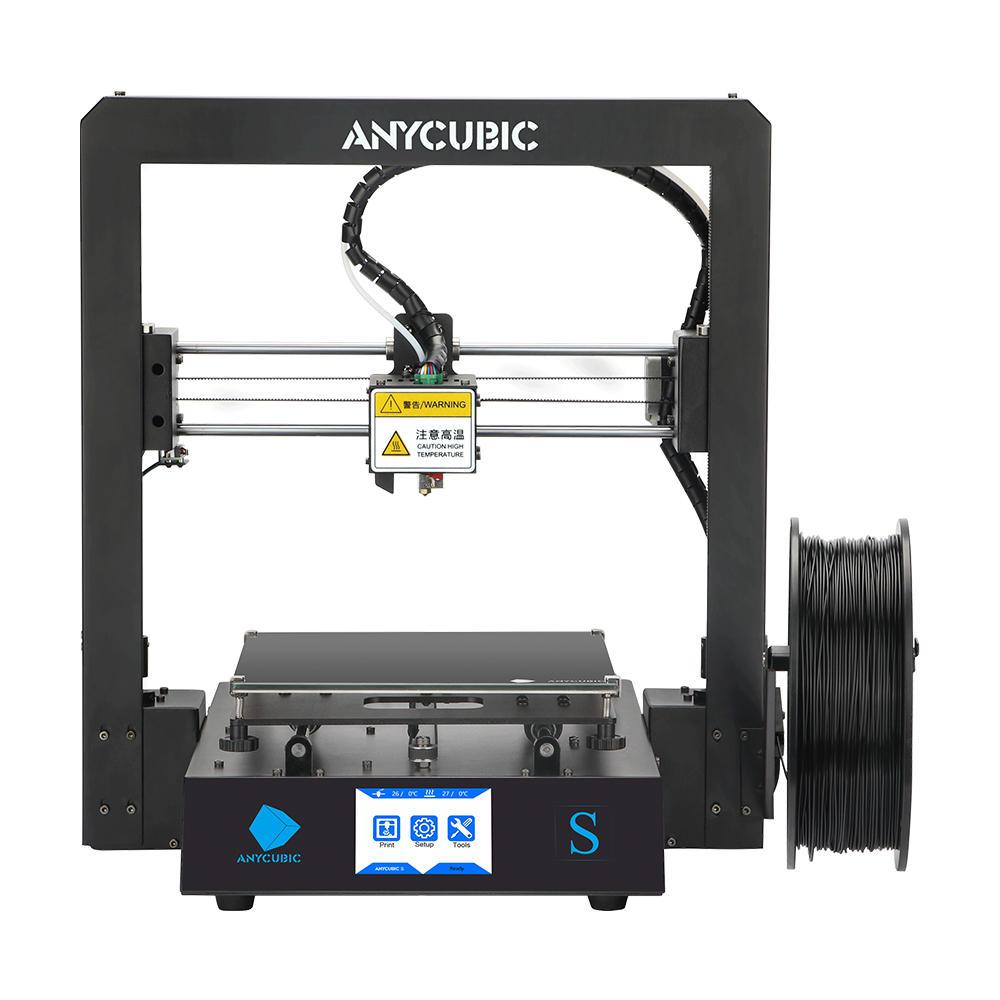 Anycubic i3 Mega S Upgraded 3D Printer DIY Kit 210*210*205mm Print Size With Ultrabase Platform/Filament Sensor/Auto Resume Print/